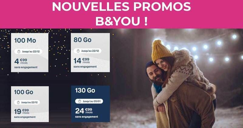 3 Promo Forfait Bouygues Telecom
