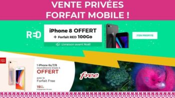 Iphone 8 Gratuit Avec Promo Forfait Red