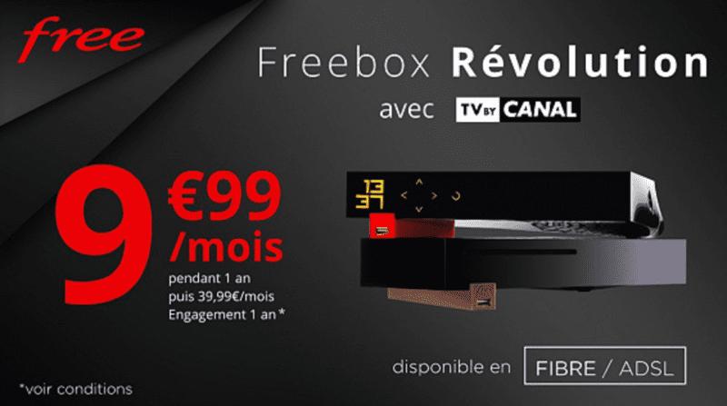 Promo Freebox Revolution